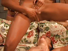 Soaking Raw Girl-on-girl Drizzle Bang-out