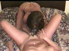 My insane wifey had slit munched by girl-on-girl friend. Inexperienced