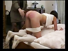 Russian College girl rock-hard penalized by teacher