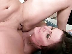 daughter luvs not her mother's fur covered vag