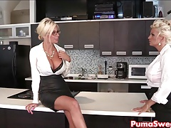 Puma Swede & Bobbi are the Girl-on-girl Office Slut!