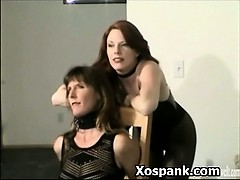 Mind-blowing Bondage Bi-atch  And