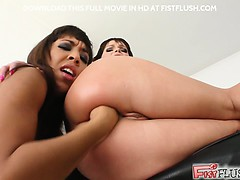 Oh my. Jeny B  Shanis butt  open. Then witness Shanis  slip in Jeny butt like a super-steamy knife thru butter. Some wild butt  in this flick