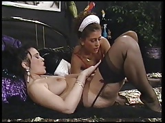 A  Maid meets her  Girl-on-girl Desires