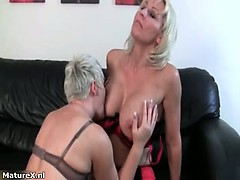 Crazy blondie mature housewife part4