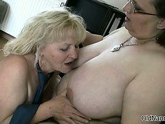 2 mind-blowing  mature gets nasty part2