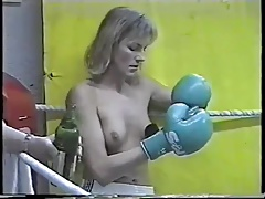 Real Bra-less Boxing