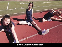 BFFS - Track Damsels Nail Each Other After