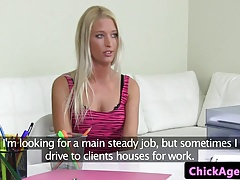 Woman agent strapons  czech