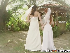 Dolly and Kymberlee have a  after getting married
