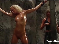 Spectacular Nude Woman Flogged In