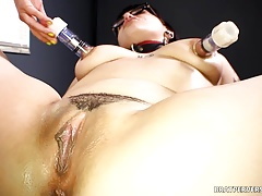 Lesdom  Session - Brat Perversions