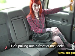 Stockinged taxi lesbo pussylicking lesbo