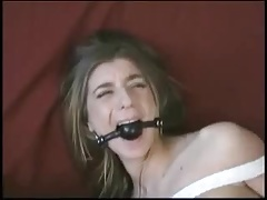 Dumb fuckfest sub Veronica Stone gets an enema by Natali Demore