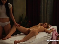 The Subordination of Sophie Orgasmic Oily  With