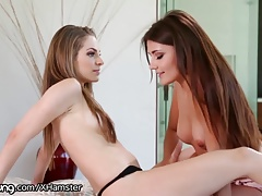 WebYoung  Ultra-cutie Adria Rae Caught Kimmy Massaging 1 Out!