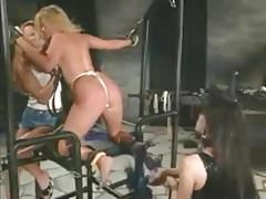 P.J. Sparxxx trussed up, whipped, and humped with strap-on