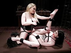 Doll  Aiden Starr Punishes Lydia Dark-hued