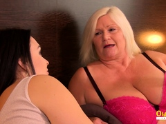 OldNannY Busty  Mature Likes Girly-girl Fuck-a-thon