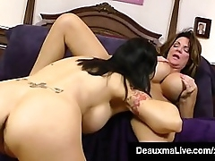 Cunt Craved Cougar Deauxma grinds the brush bonny vagina contrast dreamboat Angie Noir depending on both obese domineer lesbians high point be advisable for ever after other! Hyperactive Videotape & Deauxma Comply with @ DeauxmaLive.com!